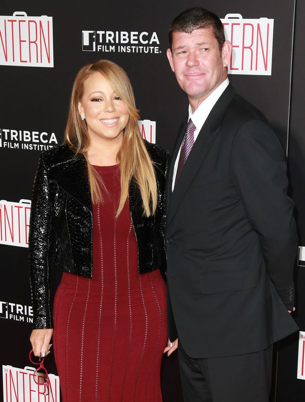 Mariah Carey ja James Packer ovat seurustelleet alle puoli vuotta.