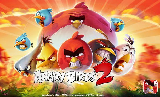 Rovion pelipuolen tuoreimpia luomuksia on Angry Birds 2. Vihaiset linnut seikkailevat myös tulevassa elokuvassa.