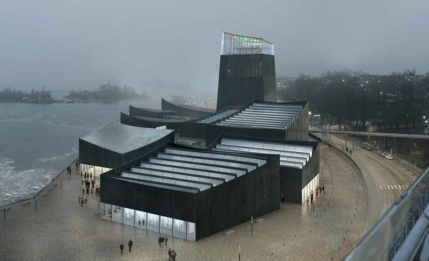 Helsingin kaupunginhallitus saa tänään käsiteltäväkseen uuden esityksen Guggenheimin taidemuseosta.