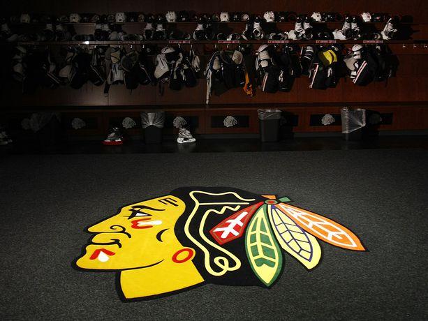 Blackhawksin logo on yksi NHL:n tunnistettavimpia.