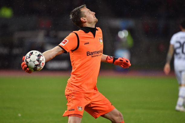 Lukas Hradeckyn Bayer Leverkusen on alisuorittanut koko alkukauden.