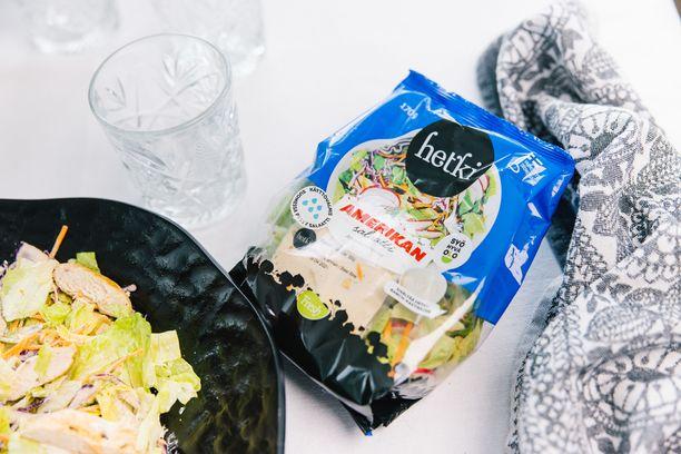 Hetki Salaattipusseista saa tuunattua monenlaisia salaatteja.
