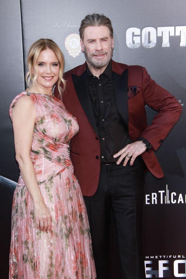 John Travolta ja Kelly Preston ehtivät olla vuosikymmeniä yhdessä.
