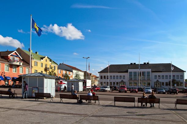 Borghomin tori Öölannin saarella. Kuvituskuva.