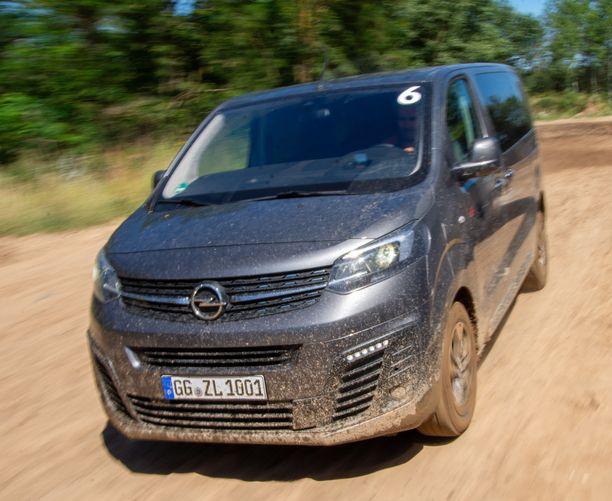 Opel Zafira Life.