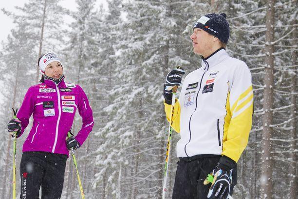 Mona-Liisa ja Ville Nousiainen ehtivät olla yhdessä reilut kymmenen vuotta.