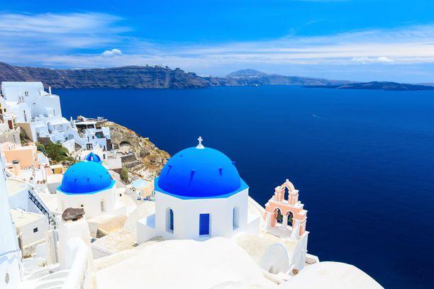 Kreikka nousi viime vuonna suomalaisten suosituimmaksi pakettimatkakohteeksi.