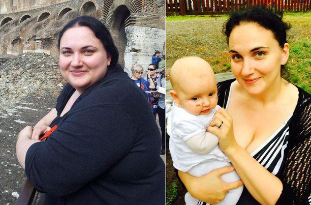 Terhi laihdutti ilman nälkädieettejä ja salitreenejä.