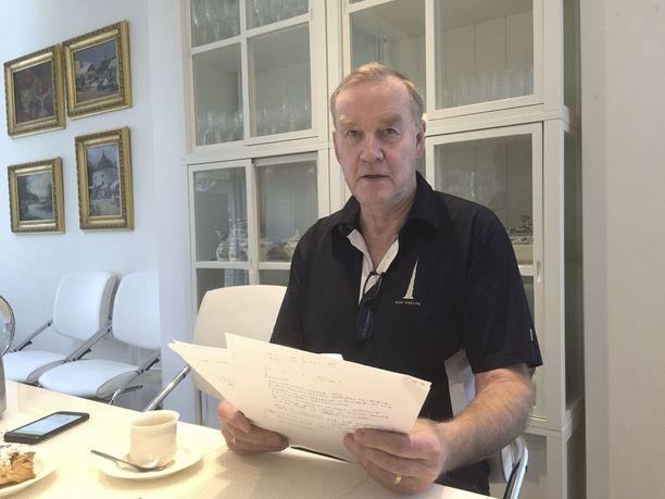 Roland Ahola pitää tehtyjä eläkkeitä koskevia ratkaisuja yksiselitteisen väärinä.
