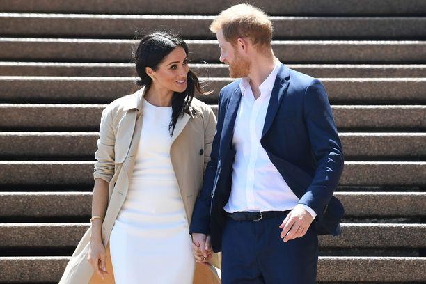 Herttuatar Meghan ja prinssi Harry ovat Oseanian vierailulla paraikaa.