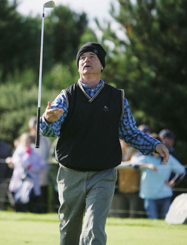 Bill Murrayn Skotlannin-matkaan kuului golfaamista ammattilaisten kanssa ja vodkan juomista opiskelijapoppoossa.