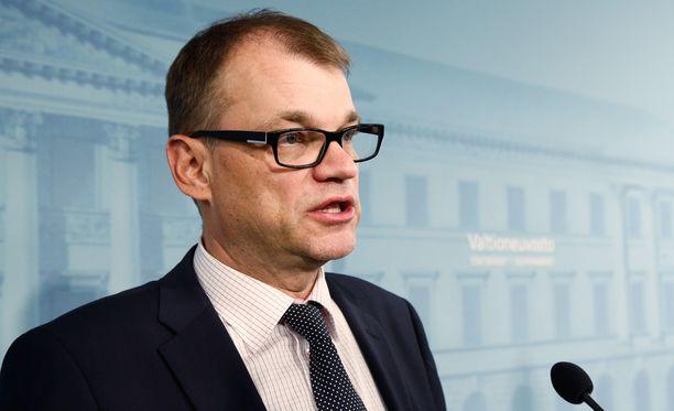 Pääministeri Juha Sipilän (kesk) mukaan paine pohjoisessa on kasvanut kovaksi.
