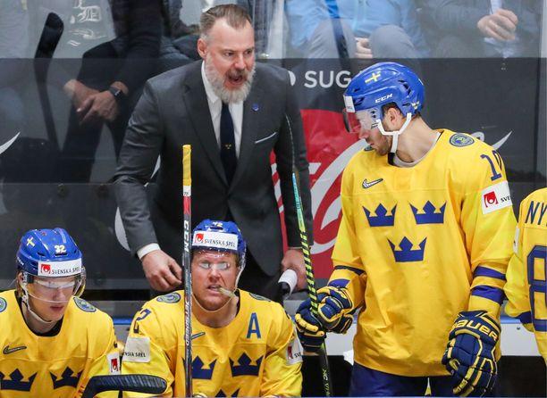 Rikard Grönborg jätti haaston käyttämättä.