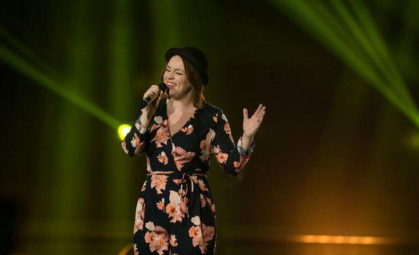 Redraman finalisti Meri Vahtera sijoittui finaalissa kolmanneksi.