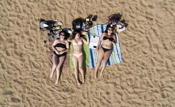 Tänään ja myös huomenna on erinomainen päivä suunnata rannalle!