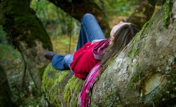 Puiden laulun kuuntelu rauhoittaa.