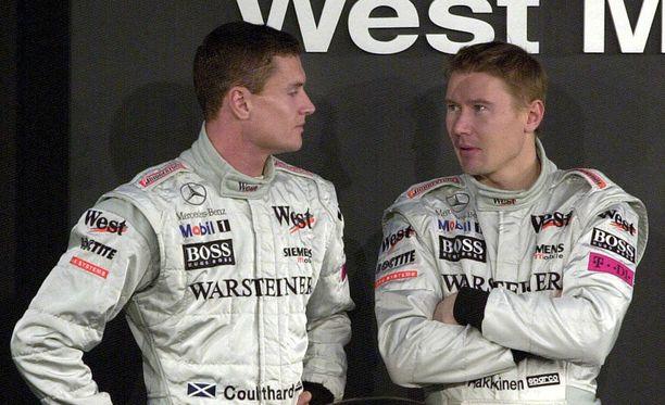 David Coulthard ja Mika Häkkinen muodostivat yhden kaikkien aikojen kovimmista McLaren-kaksikoista.