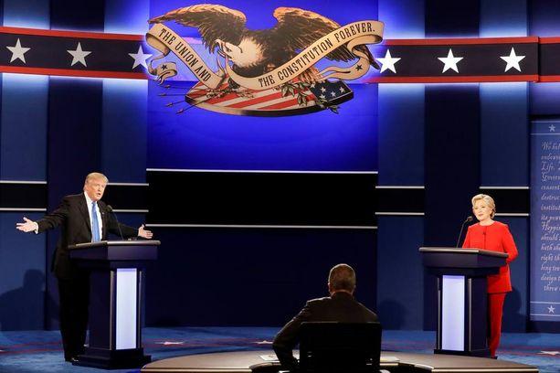 Yhdysvaltain presidenttiehdokkaat Donald Trump ja Hillary Clinton kohtasivat ensimmäisessä väittelyssä varhain tiistaiaamuna Suomen aikaa.
