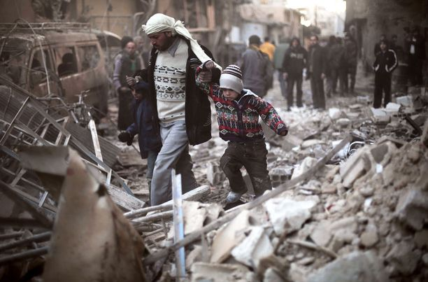 Piiritetyillä alueilla elää neljännesmiljoona lasta.