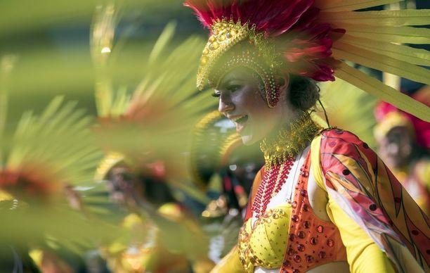 Karnevaali järjestettiin viime viikonloppuna 51. kerran. Yli miljoonan ihmisen odotettiin osallistuvan juhlintaan.