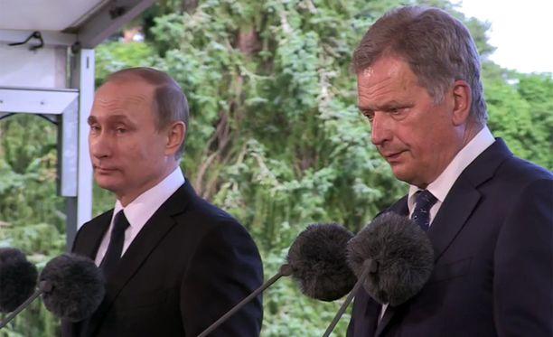 Putin sanoi, että turvallisuusasiat Itämeren alueella koskevat myös Venäjää.