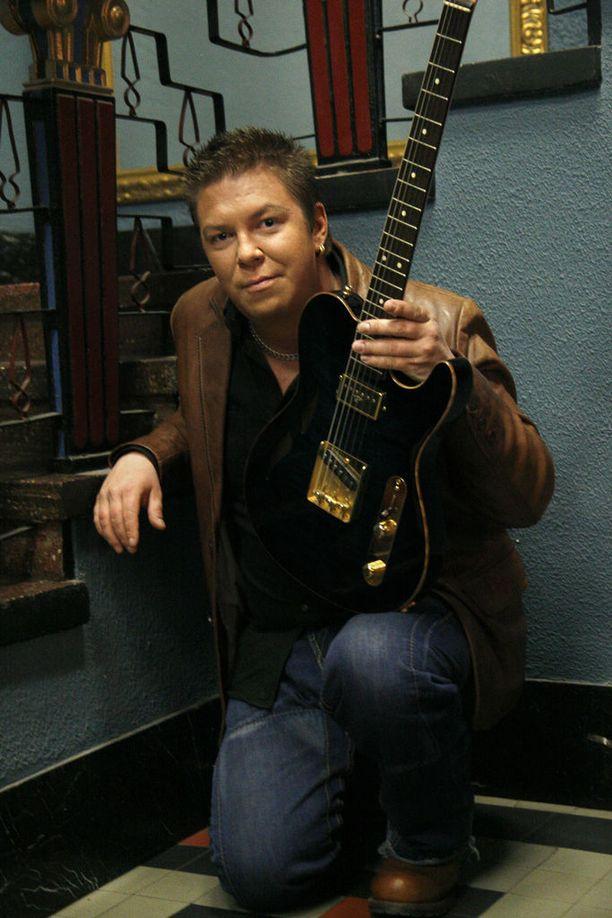 Jani Wickholm on elättänyt itsensä musiikilla jo 14,5 vuotta.