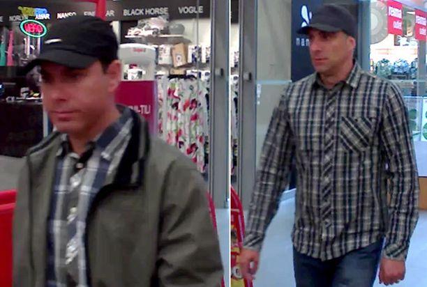 ETSITYT Näitä miehiä poliisi epäilee lukuisista lompakkovarkauksista.