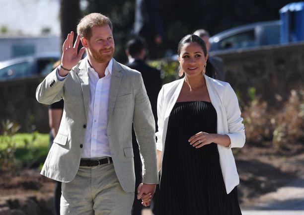 Prinssi Harry ja herttuatar Meghan saavat pian esikoisensa.