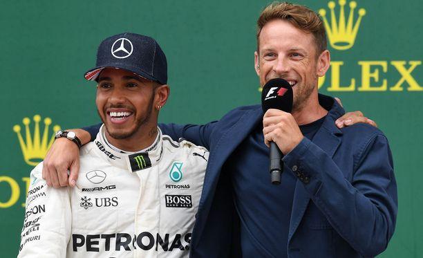 Lewis Hamilton ja Jenson Button olivat tallikavereita kahden vuoden ajan.