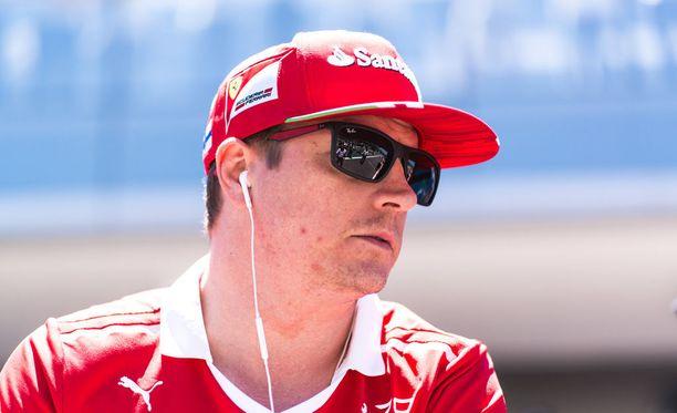 Kimi Räikkönen on pidetty henkilö Ferrari-fanien keskuudessa.