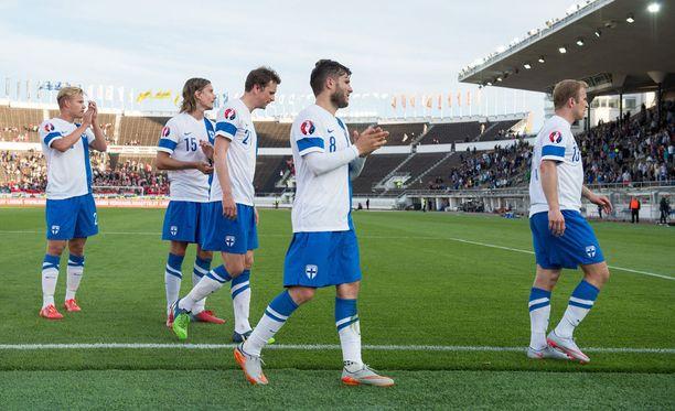 Suomen maajoukkueen katseet ovat jo MM-kisoissa 2018.