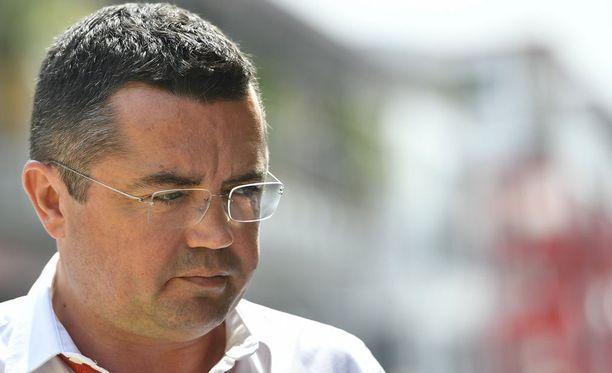 Eric Boullierille riitti, kilpailutoimenjohtaja eroaa tehtävästään McLarenilla.