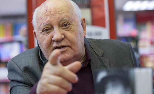 Mihail Gorbatshov, 86, ei voi hyväksyä Venäjän sulkemista olympialaisista.