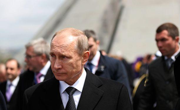 """Krimin liittäminen Venäjään korjasi """"historiallisen vääryyden"""", sanoo Putin tuoreessa dokumentissa."""