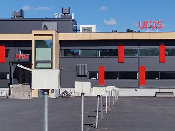 Uros Oy:n toimitila Oulussa.