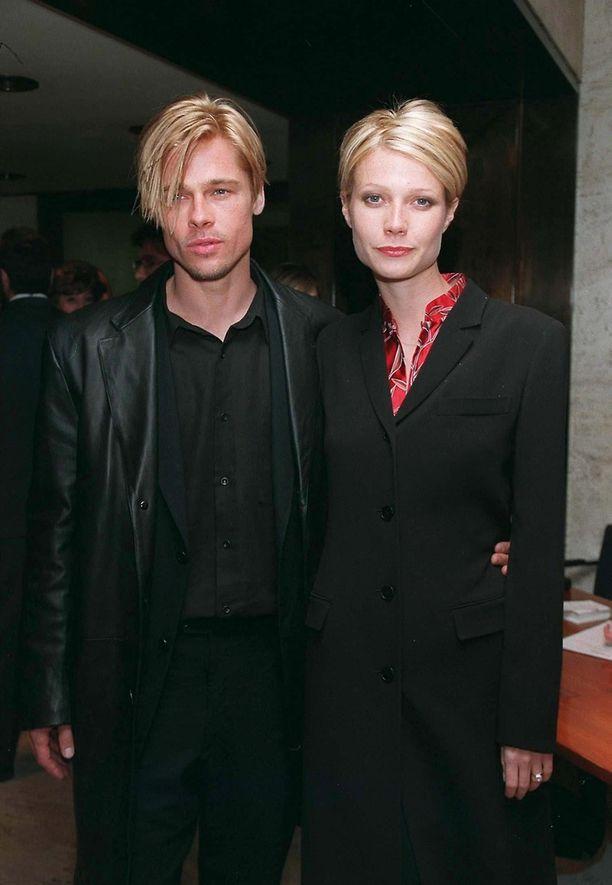 Ovatkohan Brad Pitt ja Gwyneth Paltrow käyneet samalla kampaajalla?