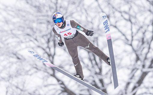Norjalaistähti romahti toisella hyppykierroksella – japanilaishyppääjä nappasi voiton Puolassa