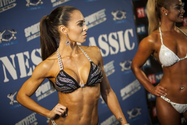 Sofia Belórf Fitness Classicin infotilaisuudessa vuonna 2015.