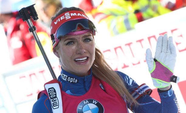 Gabriela Koukalova ei pysty kilpailemaan tällä kaudella lainkaan.