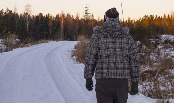 Musta talvi on vaihtunut valkeaan nietokseen Etelä-Suomessa.