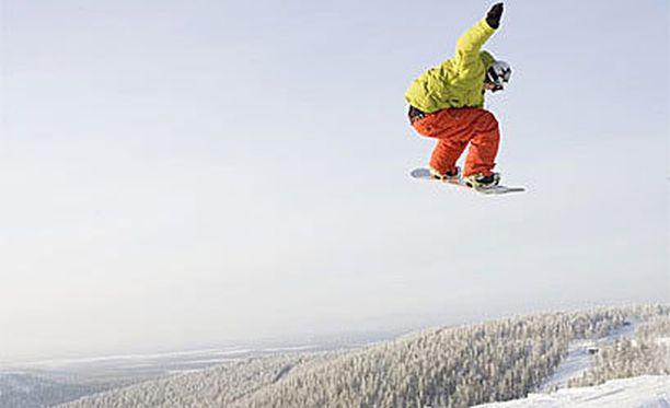 Vuoden hiihtokeskukseksi valittiin Levi.