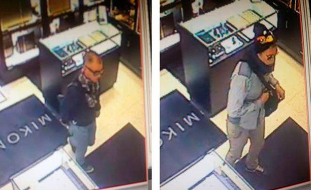 Vitaljus Bumbulis ja Regimijus Trusksanovas saivat keskiviikkona käräjäoikeuden tuomion kultasepänliikkeen ryöstöstä.