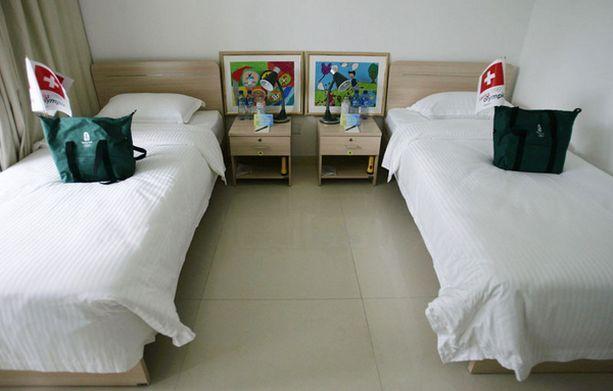 Osa huoneista on usemman hengen käytössä.