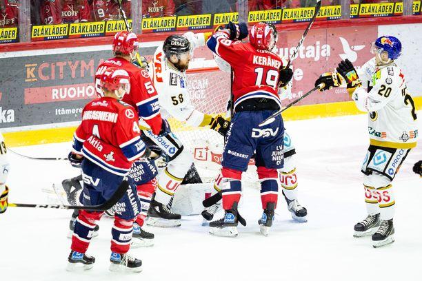 HIFK-Kärpät-vääntö jatkui ja päättyi Helsingissä.