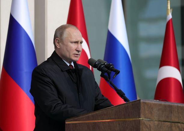 Venäjän presidentin Vladimir Putinin mukaan Isis on nujerrettu Syyriassa.