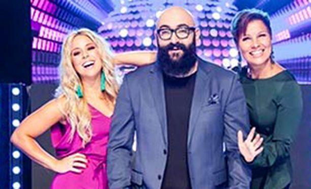 Tämä kolmikko nähdään keväällä TV5-kanavalla.