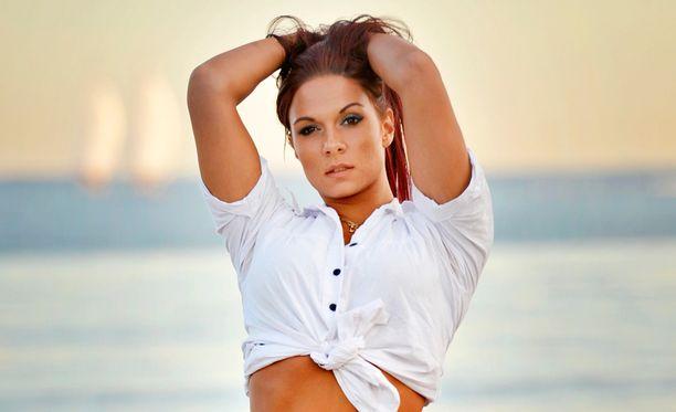 Jannina Morkos on hallitseva Miss Hot Rod.