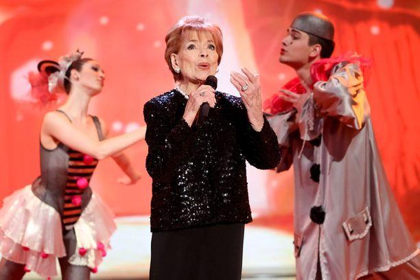 Laulaja esiintyi hyvässä kunnossa vielä vuonna 2012.