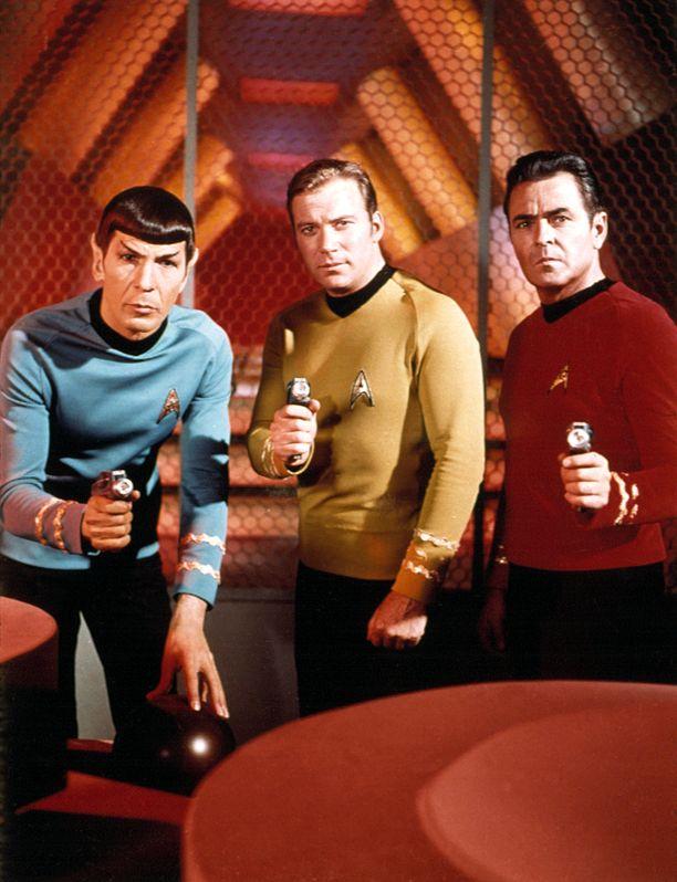 Star Trek Enterprise -sarjassa esiintyy useita suomalaisia astioita. Kuva liittyy Star Trek -elokuvaan.