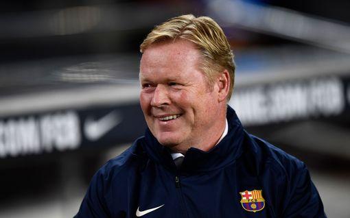 Potku-uhan alla oleva Barcelonan päävalmentaja sooloili lehdistötilaisuudessa – eikö seurajohto tiennyt?